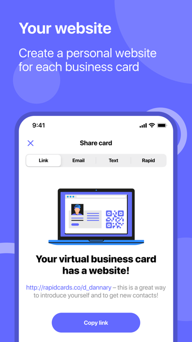 RAPID Business CardsScreenshot of 5