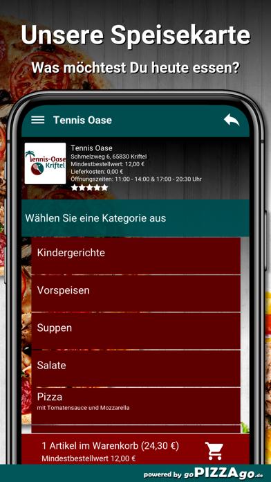 Tennis Oase Kriftel Pizza screenshot 4