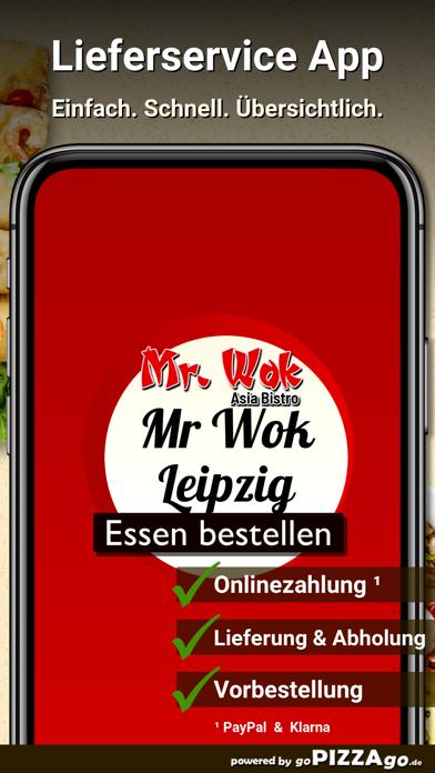 Asia-Bistro Mr. Wok Leipzig screenshot 1
