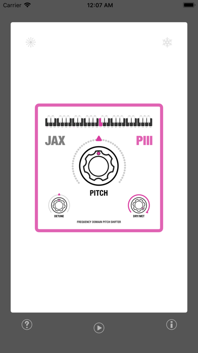 JAX P3 - Pitch Shifter III screenshot 3