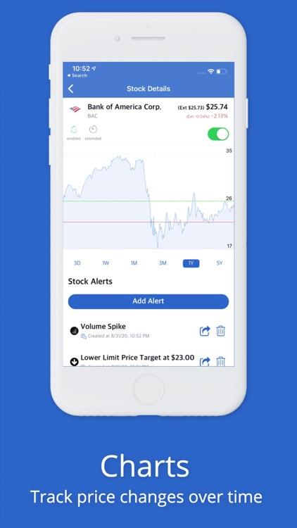 Stock Alarm - Alerts, Screener screenshot-3