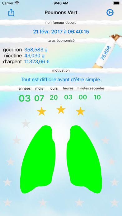 Poumon Vert - arrêter fumer
