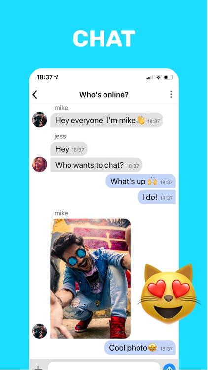 Chat sites text random Free Online
