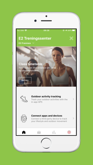 点击获取E2 Treningssenter