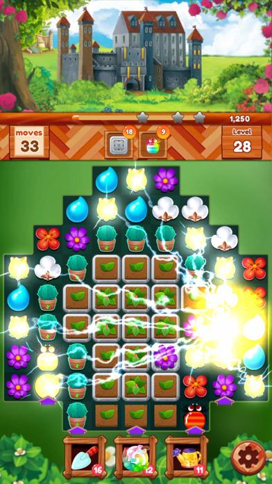 ガーデンドリームライフ:フラワーマッチ3パズルのおすすめ画像5