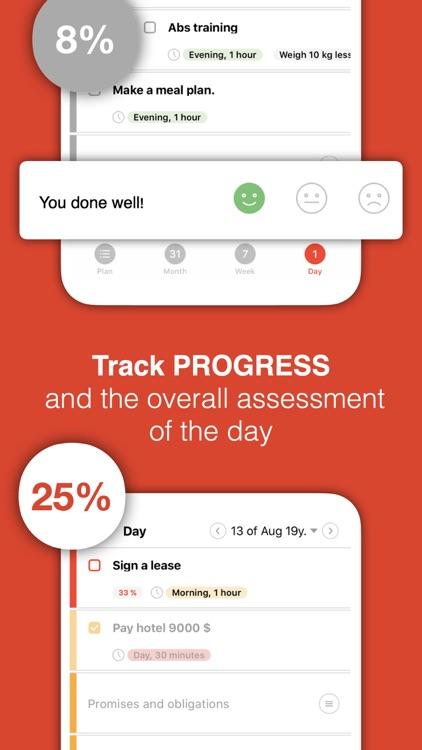 Selfplan: daily planner task screenshot-3