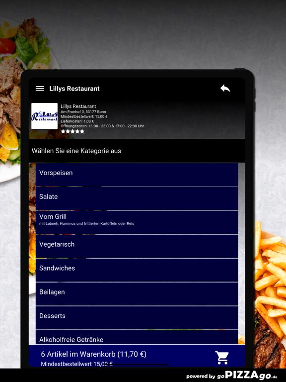 Lillys Restaurant Bonn screenshot 8