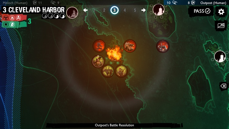 Neuroshima Convoy card game screenshot-4