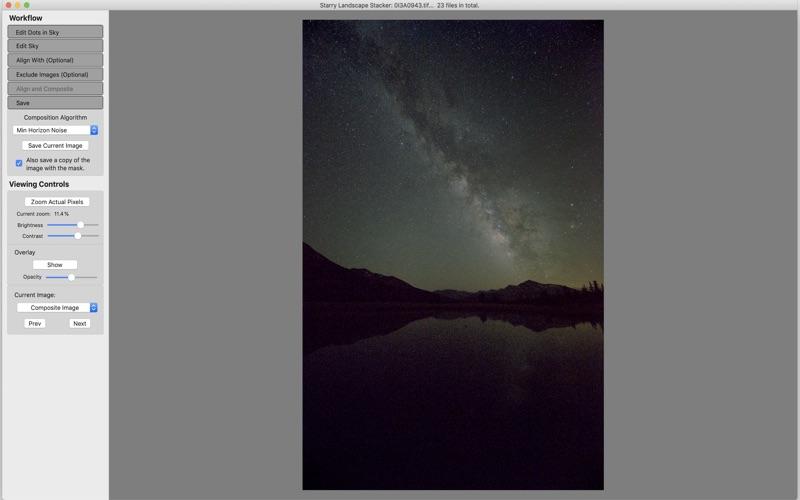 Starry Landscape Stacker für Windows