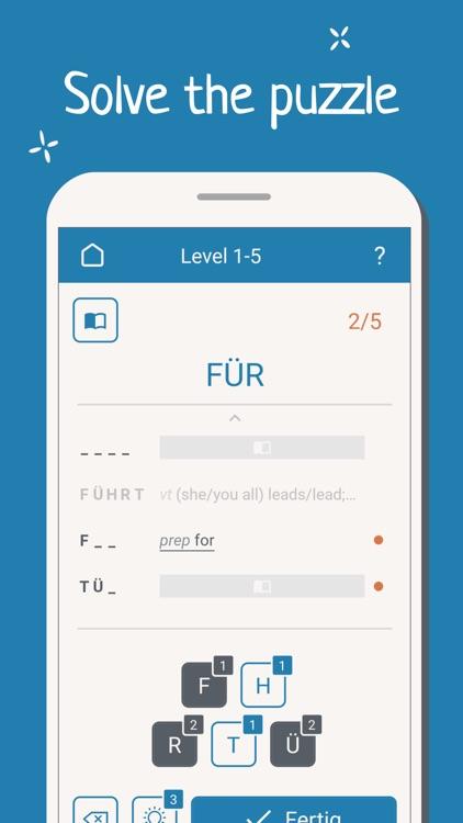 Alphabetika: German Word Game screenshot-3
