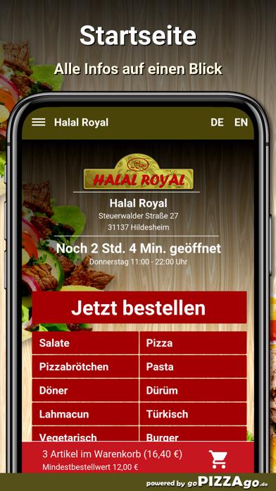 Halal Royal Hildesheim screenshot 2