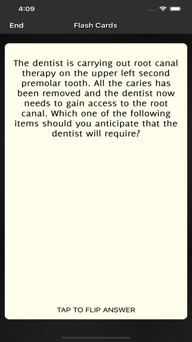 Dental Nurse Revision Question screenshot 5