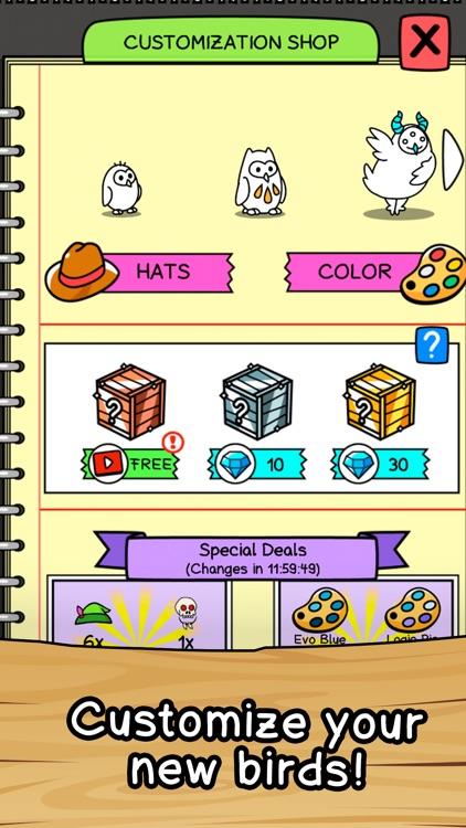 Birds Evolution Merge screenshot-3