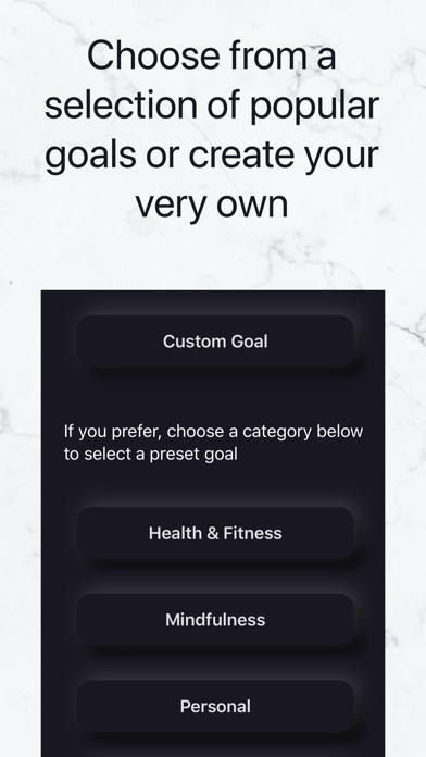Apoklisi - Daily habit tracker Screenshot