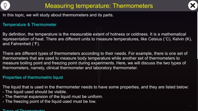 Temperature and Thermometers screenshot 1