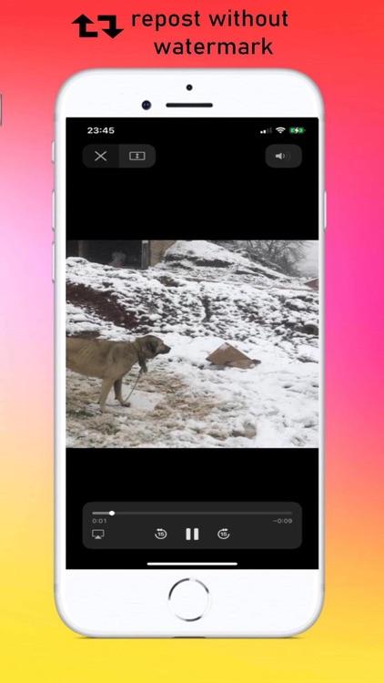InSaver > Repost For Instagram