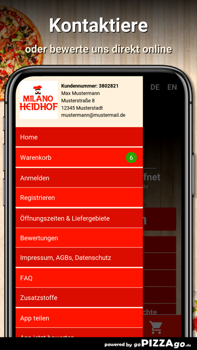 Pizzeria Milano Herzogenrath screenshot 3