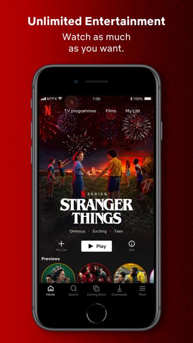 Netflix screenshot one