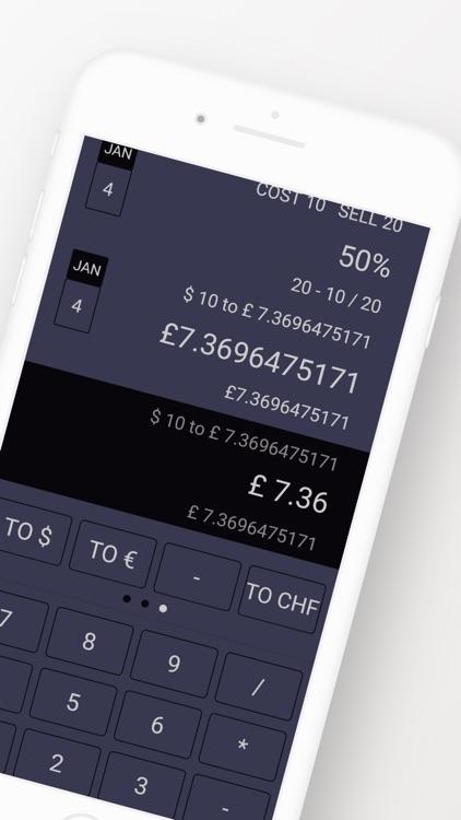 Wedge - Business Calculator