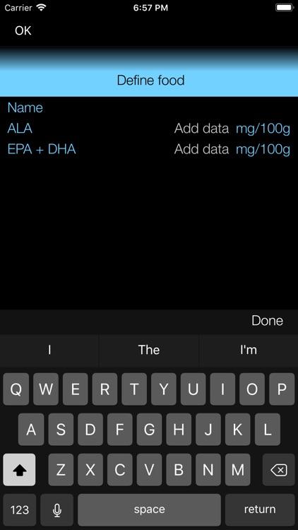Omega-3 Fat Counter & Tracker screenshot-7
