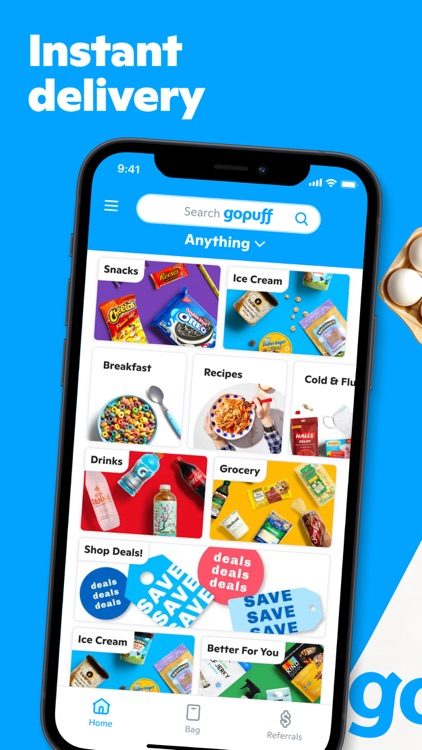 Gopuff—Alcohol & Food Delivery screenshot-0