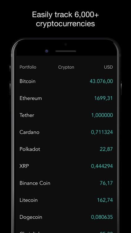 Crypton - BTC Crypto Tracker screenshot-0