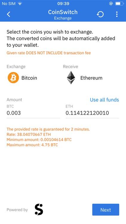 Coinomi Wallet screenshot-3