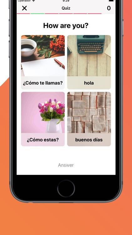 Learn Spanish with LENGO screenshot-3