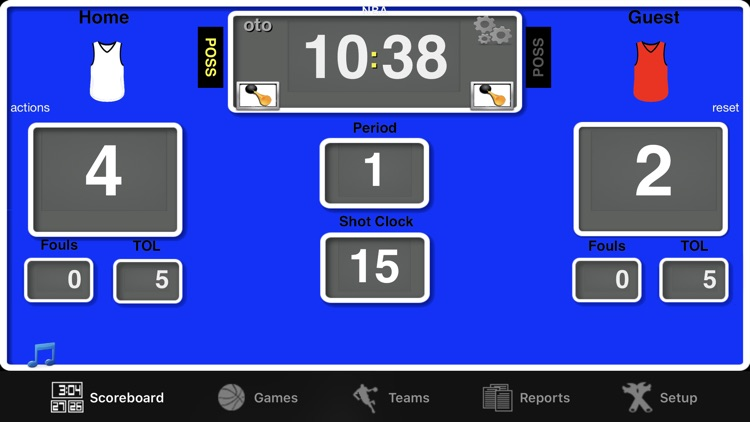 Ballers Basketball Scoreboard screenshot-4