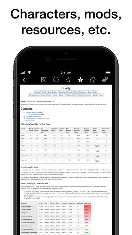 Pocket Wiki for RimWorld screenshot-3