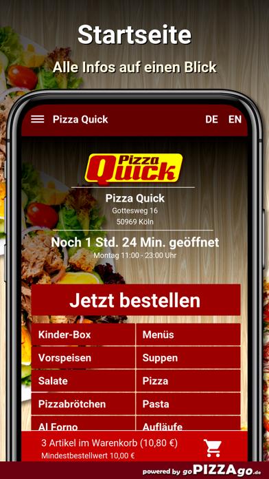 Pizza Quick Köln screenshot 2