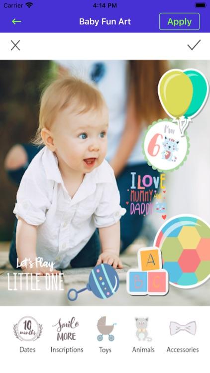 Baby Born Photo & Video Editor screenshot-5