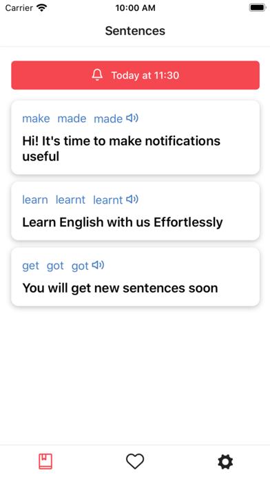 iv: Irregular Verbs screenshot 1