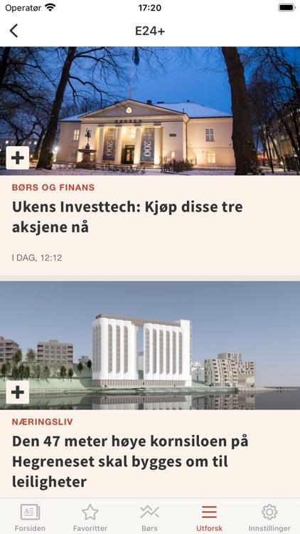 E24 - nyheter om økonomi screenshot-5