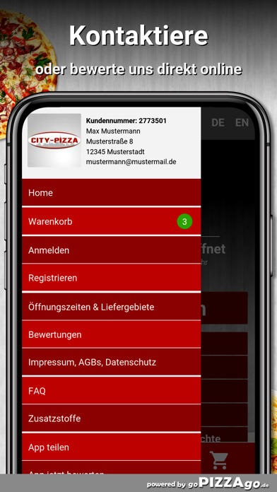 City-Pizza Wittingen screenshot 3