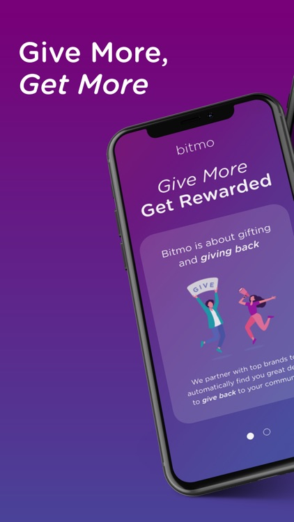Bitmo - Give More. Get More.