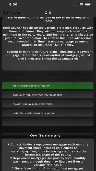 CeMAP 3 Mortgage Advice Exam screenshot 5