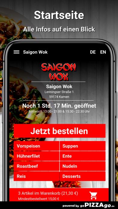 Saigon Wok Kamen screenshot 2