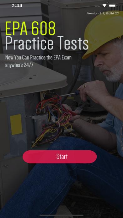 EPA 608 Practice Tests screenshot 1