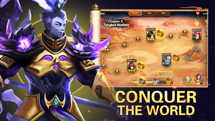 Three Kingdoms: Heroes Legend screenshot-4