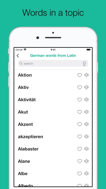 Dictionary of German language screenshot-6