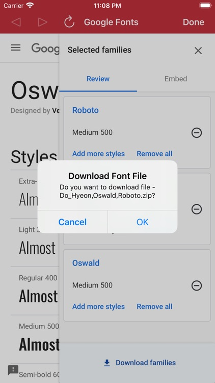Custom Fonts - Font Installer screenshot-3