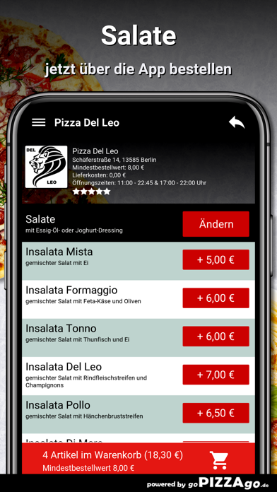 Pizza Del Leo Berlin screenshot 5