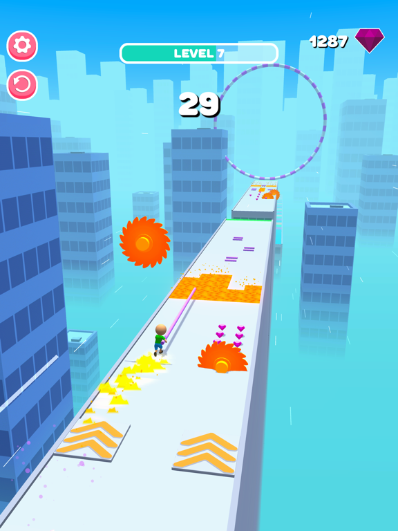 Roof Jumper 3D screenshot 19