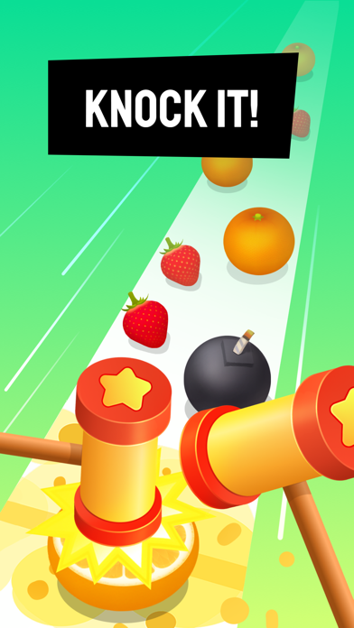 Beat Hammer – Fruits vs. Music screenshot 1