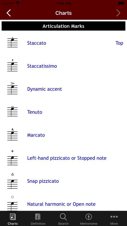 MusicTools Music Dictionary screenshot-4