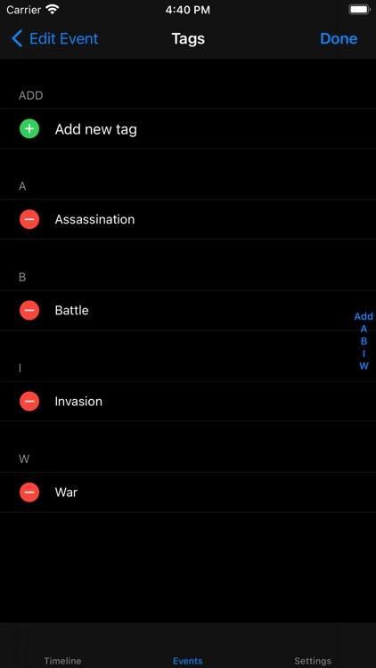 Chronos Notes screenshot-3
