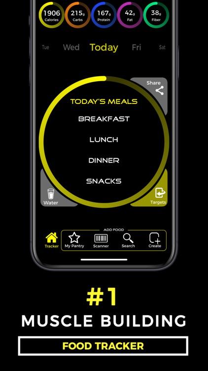 Muscle Building Food Tracker screenshot-0