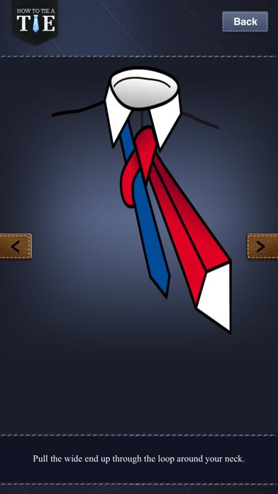 How to Tie a Tie !Screenshot of 5