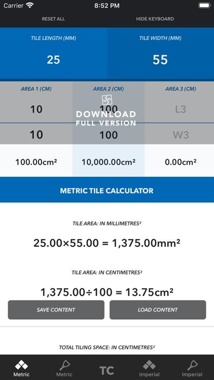 Tile Calculator 2020 LITE